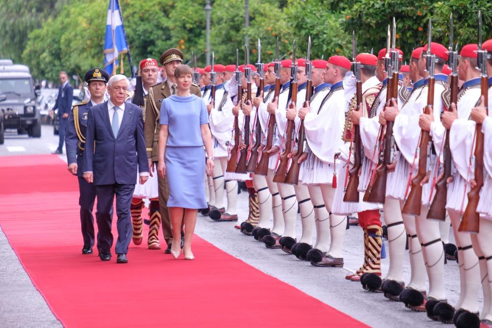 Kohtumine Kreeka presidendiga